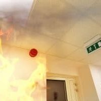 Fire Alarm and Flames